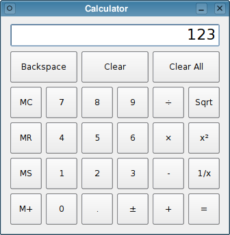 Qt 4 8: Calculator Example
