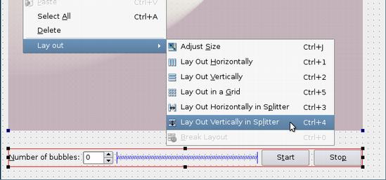 Qt 4 8: Using Layouts in Qt Designer