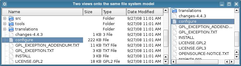 Qt 4 8: Model/View Programming