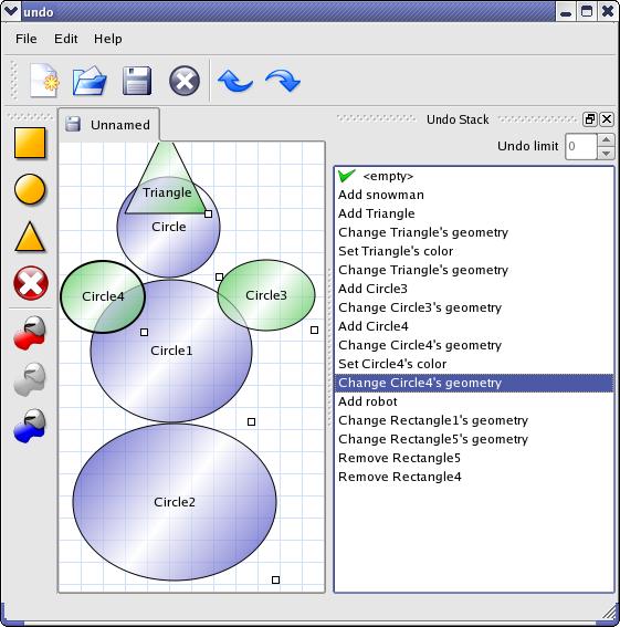 Qt 4 8: Undo Framework